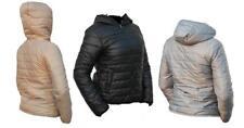 Damen Jacke mit Kapuze Stepp wie Daunenjacke Optik  leicht dünn