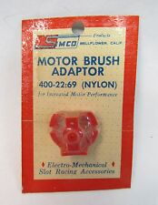 1960's Simco 400-22 Motor Brush Adaptor Nylon 1:24 1:32 slot cars Mint on card