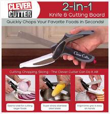 Cortador de inteligente 2 en 1 tablero de corte y cuchillo Tijeras