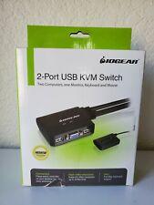 IOGEAR 2 Port USB KVM Switch - Model: GCS22U