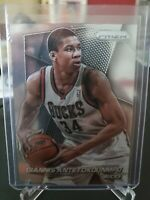2014-15 Panini Prizm Giannis Antetokounmpo #73 Milwaukee Bucks  2nd Year