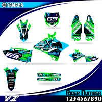 yamaha yz 125 250 2015 2016 2017 2018 2019 decal graphics stickers yz125 yz250