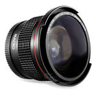 Altura Photo 58MM 0.35x Fisheye Wide Angle Lens /w Macro for Canon DSLR Cameras