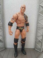 WWE THE ROCK MATTEL ELITE COLLECTION SERIES 22 WRESTLING ACTION FIGURE