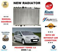 Pour Peugeot Partner Tepee 1.6 2008- > Neuf Refroidissement Moteur Radiateur