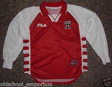 Eccleston & Heskin FC / #7 - 2000's - FILA - vtg JUNIOR Shirt / Jersey. Size 152
