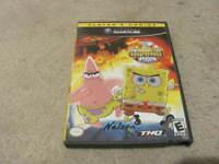 Spongebob Squarepants The Movie Nintendo Gamecube COMPLETE w/ Manual