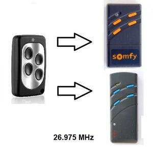 Handsender für Bosch & Somfy 26,975 MHz Funk-Sender Toröffner Fernbedienung 27