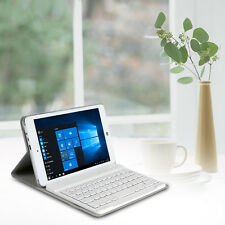 """Bluetooth Slim Keyboard + PU Leather Cover Case for CHUWI HI8 8"""" Tablet PC Gray"""