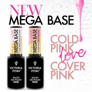 Victoria Vynn Mega Base Top UV Led Hybrid Gel Polish Nail Clear Beige Cold Pink
