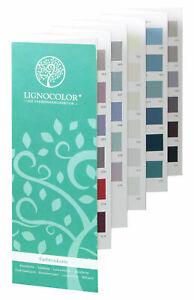 Lignocolor   Farbtonkarten   Set   Kreidefarben   Wandfarben   Farbfächer