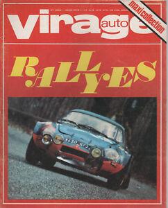 VIRAGE AUTO 1972 1 F1 & RALLYE & CANAM 1971 GIULIA 2000 GTV FULVIA 1600 HF R17TS