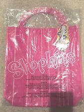 Shopkins Full Size Pink Fabric Shopping Halloween Treat Bag Tote Season 1