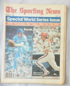 World Series issue Mike Schmidt Vs Dan Quisenberry Royals 1980 Sporting News