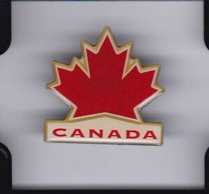 Team Canada 2010 Vancouver Olympics White Logo Pin