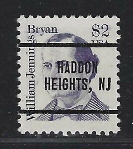Dollar Denom Precancels - NJ - Haddon Heights - 2195-280 - $2 Great American
