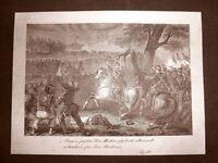 Battaglia di Solferino e San Martino Incisione 1881 Dinastia di Savoia Oscar Pio