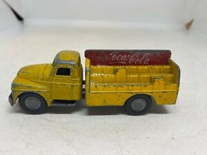 Micro Models GB/16 Made in Australia International Coca-Cola Bottle Truck Yellow