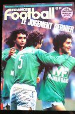 b)FRANCE FOOTBALL 27/03/1979; Saint-Etienne-Strasbourg pour le titre/ Europe