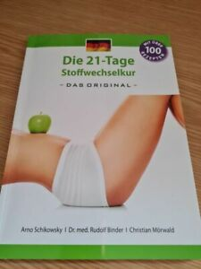 """Buch """"Die 21-Tage Stoffwechselkur das Original"""" Schikowsky/Binder/Mörwald"""