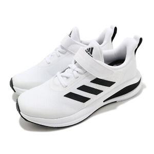 adidas FortaRun EL K White Black Kid Preschool Running Shoes Sneakers FW2578
