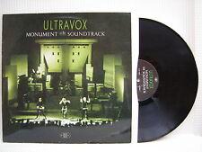 ULTRAVOX - Monument Le bande sonore, chrysalis cux1452 ex-condition Vinyle LP