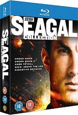 The Steven Seagal Collection (Blu-ray, 5-Disc Set, Region Free) *NEW/SEALED*