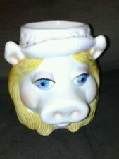 Sigma Muppets Miss Piggy Ceramic Figural Coffee Mug good condition babies muppet