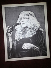 Stevie Nicks-10X12 Inch-Gorgeous Print !