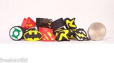 20 DC Comic Batman Superman Robin Green Lantern Mini Tiny Erasers Pencil Toppers