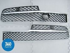 NEW GENUINE BENTLEY FLYING SPUR FRONT BUMPER CHROME GRILLE LEFT RIGHT 4W0807648K