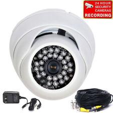 Dome Security Camera Wide Angle Weatherproof 600TVL 28 IR LED Infrared Color wta