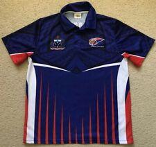 Samoa Cricket Shirt Jersey - Tau Sports - Mens Size L Large Excellent Condition