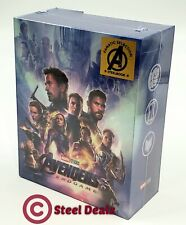 AVENGERS ENDGAME [4K UHD + 2D] Blu-ray STEELBOOK BOXSET [FANATIC SELECTION] OC