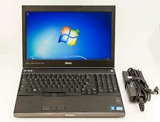 Dell Precision M4700 Core i7-3740QM 2.7GHz 8GB 256GB SSD Win7 NVid Gaming Laptop