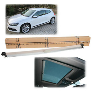 New Beige Sunshade Sunroof Cover For VW Scirocco 2009-2018 1K8 877 307