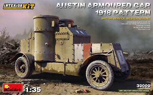Miniart 1/35 Austin Armored Car 1918 Pattern British Service Western Front