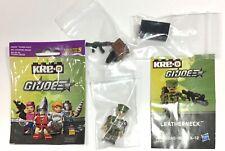 Gi Joe Cobra kre-o kreo series 5 leatherneck mini figure complete