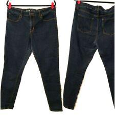 AVA & VIV Womens Size 14W Dark Wash Skinny Jeans