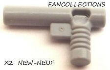 LEGO-X2 Light Bluish Gray Minifig, Utensil Hose Nozzle Elaborate 60849  NEUF
