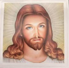 JESUS PHOTO STICKER CHRISTIAN BIBLE BUMPER STICKER DECAL CATHOLIC