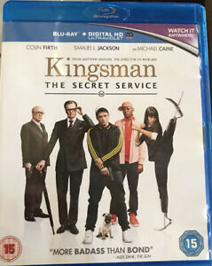 Kingsman: The Secret Service - DVD, 2015 Blu Ray