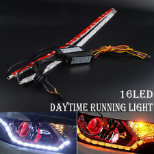 16LED Switchback Flexible LED Strip Light DRL Sequential Flow Turn Signal Lamp
