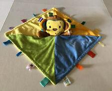 Taggies Monkey Security Blanket Lovey Q5 V1