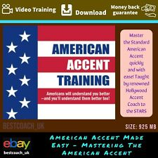 American Accent Made Easy – Mastering The American Accent- Video Training