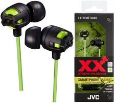 JVC HA-FX103M-G GREEN Xtreme Xplosives In-Ear Headphones High Quality /Brand New