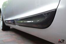 Audi A6 S6 4F C6 Allroad dicke Türleisten Seitenleisten Zierleisten CARBON
