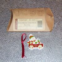 Longaberger Kwanzaa KINARA TIE-ON ~ Perfect for Packages ~ Brand New in Box!