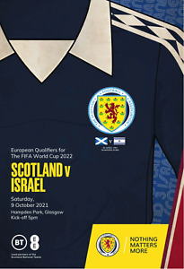 Scotland v Israel - World Cup Group F Qualifier - 09 October 2021 - Official.