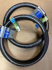 Pair Schwalbe 16 X 1.35 (brompton) Marathon Plus Tyres